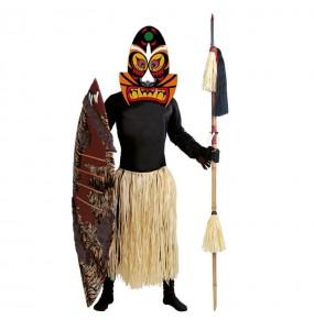 Travestimento Zulù adulti per una serata in maschera
