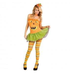 Costume Zucca sexy donna per una serata ad Halloween