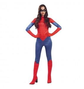 Travestimento Spider economico donna per divertirsi e fare festa