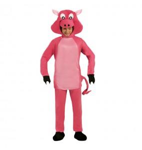 Travestimento Maiale rosa adulti per una serata in maschera