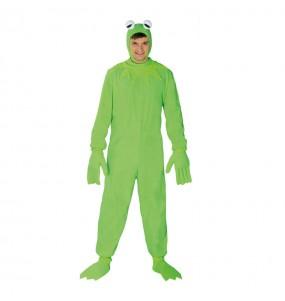 Travestimento Kermit la rana adulti per una serata in maschera