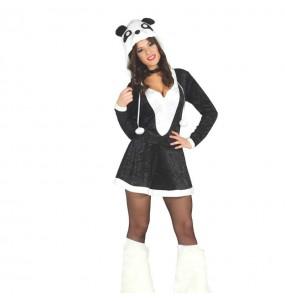 Travestimento Panda Sexy donna per divertirsi e fare festa