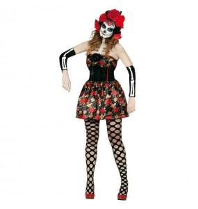 Costume Catrina donna per una serata ad Halloween