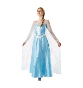 Travestimento Elsa Frozen - Disney® donna per divertirsi e fare festa