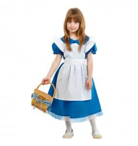 Travestimento Alice das maravilhas bambina che più li piace
