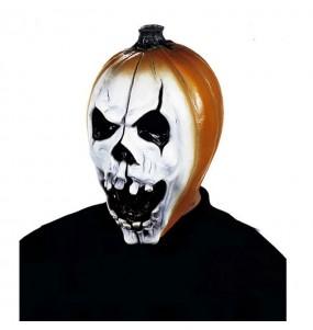 Maschera Zucca per poter completare il tuo costume Halloween e Carnevale