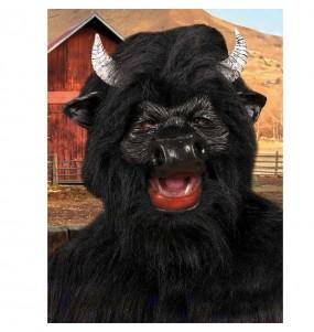 Maschera toro per poter completare il tuo costume Halloween e Carnevale