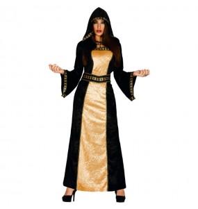 Costume Dama Oscura donna per una serata ad Halloween