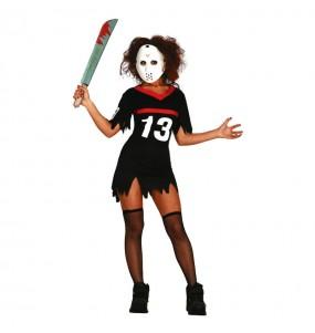 Costume Jason Venerdì 13 donna per una serata ad Halloween