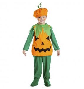Costume da Zucca arancione per bambino