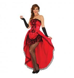 Travestimento Can Can Cabaret donna per divertirsi e fare festa