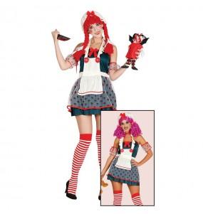 Costume Bambola di pezza donna per una serata ad Halloween