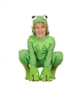 Travestimento Kermit la rana bambino che più li piace