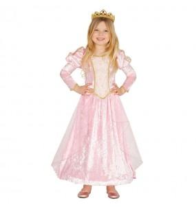 Travestimento principessa rosa deluxe bambina che più li piace