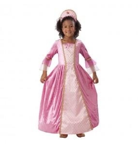 Travestimento Principessa rosa bambina che più li piace