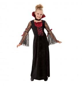 Vestito Vampiro gotico bambine per una festa ad Halloween