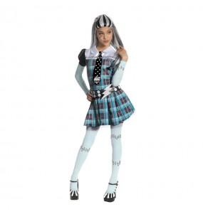 Vestito Frankie Stein Monster High bambine per una festa ad Halloween