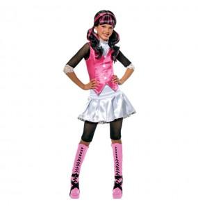 Vestito Draculaura Monster High bambine per una festa ad Halloween