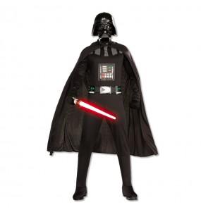 Travestimento Darth Vader con spada Star Wars® adulti per una serata in maschera