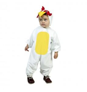 Travestimento Gallo Bianco bambino che più li piace