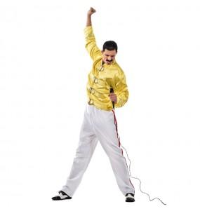 Travestimento Freddie Mercury adulti per una serata in maschera
