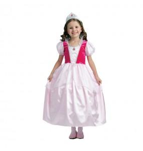 Travestimento Principessa Rosa favola bambina che più li piace