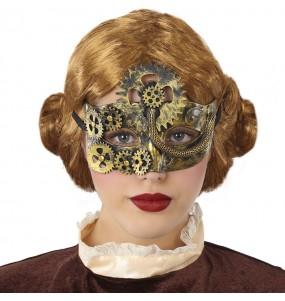 Maschera vittoriana Steampunk per poter completare il tuo costume Halloween e Carnevale