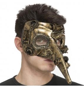 Maschera Steampunk per poter completare il tuo costume Halloween e Carnevale