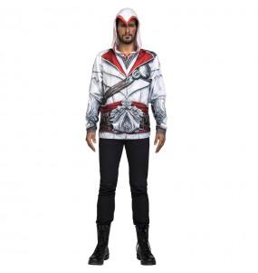 Travestimento Ezio Auditore Assassin's Creed adulti per una serata in maschera