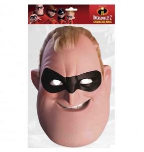 Maschera Bob Gli Incredibili per bambino per poter completare il tuo costume Halloween e Carnevale