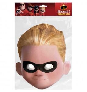 Maschera Dash Gli Incredibili per bambino per poter completare il tuo costume Halloween e Carnevale