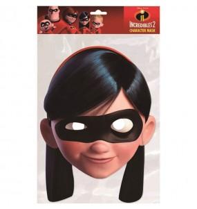 Maschera Violetta Gli Incredibili per bambino per poter completare il tuo costume Halloween e Carnevale