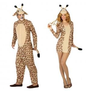 L'originale e divertente coppia di Giraffe per travestirsi con il proprio compagno