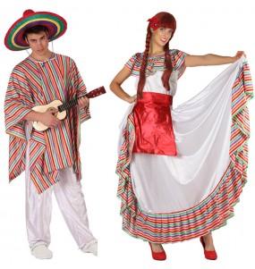 Travestimenti coppia Messicani economici divertenti per travestirti con il tuo partner