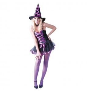 Costume Strega magica donna per una serata ad Halloween