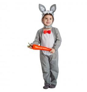 Travestimento Coniglietto Grigio bambino che più li piace
