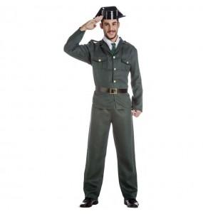 Costume da Agente della Guardia Civile per uomo