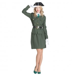 Costume da Agente della Guardia Civil per donna