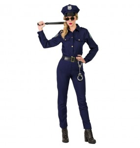 Travestimento Poliziotta donna per divertirsi e fare festa