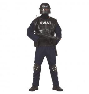 Travestimento agente SWAT adulti per una serata in maschera