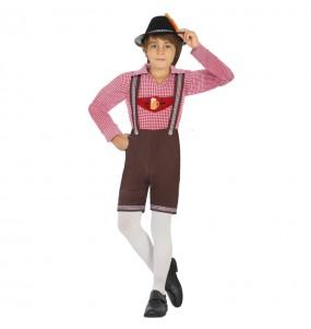 Travestimento Tedesco Oktoberfest bambino che più li piace