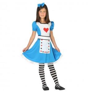 Travestimento Alice nel paese delle meraviglie bambina che più li piace