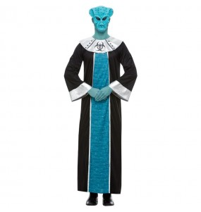 Costume da alieno Ashtar per uomo