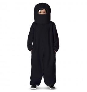 Costume da Among Us nero per bambino