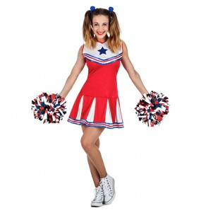Travestimento Cheerleader NBA donna per divertirsi e fare festa