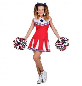 Travestimento Cheerleader NBA donna per divertirsi e fare festa