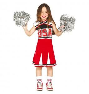 Travestimento Cheerleader economico bambina che più li piace