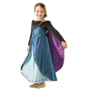 Costume da Anna Epilogue Frozen 2 per bambina