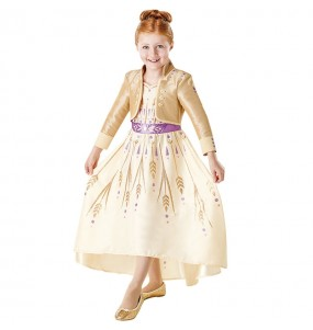 Travestimento Anna Frozen 2 Prologue bambina che più li piace