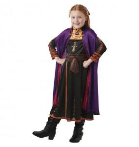 Travestimento Anna Frozen 2 classico bambina che più li piace